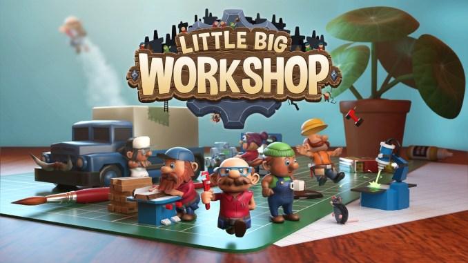 """Das Bild zeigt das Logo von """"Little Big Workshop""""."""