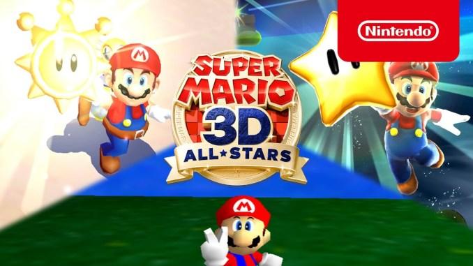 """Das Bild zeigt das potenziell für eine Virtual Console-App verfügbare """"Super Mario 3D All-Stars""""."""