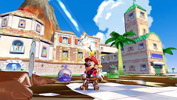 Dieses Bild zeigt Mario mit dem Dreckweg 08/15