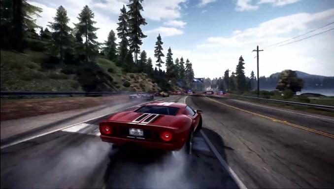 """Das Bild zeigt die Renn-Action in """"Need for Speed: Hot Pursuit Remastered""""."""