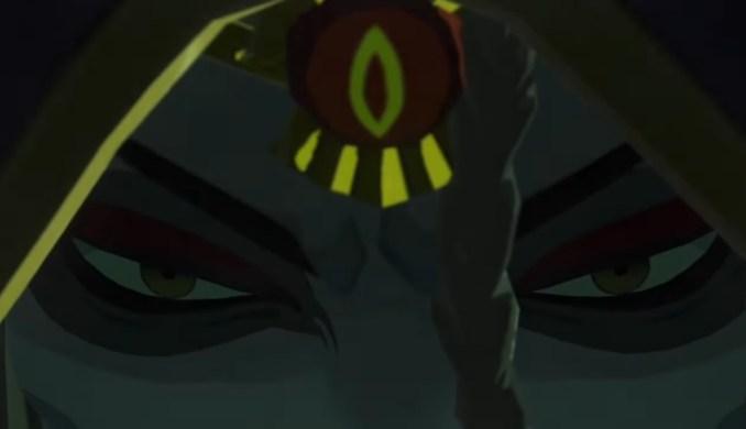 """Das Bild zeigt eine bisher unbekannte Person in """"Hyrule Warriors: Zeit der Verheerung""""."""