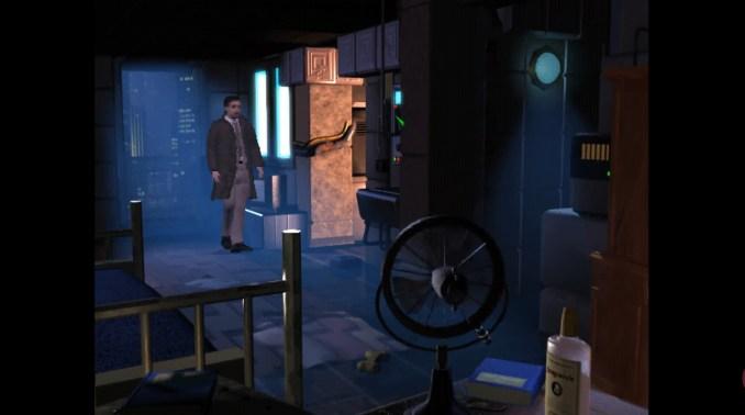 """Das Bild zeigt eine Szene aus dem Spiel """"Blade Runner""""."""