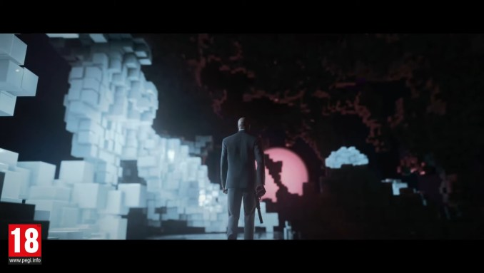 """Das Bild zeigt eine Szene aus dem Trailer zu """"Hitman 3 Cloud-Version""""."""