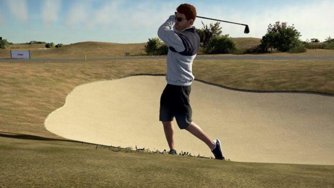 """Das Bild zeigt eine Szene aus dem Spiel """"PGA Tour 2K21""""."""
