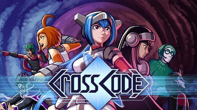 """Das Bild zeigt das Logo von """"CrossCode""""."""