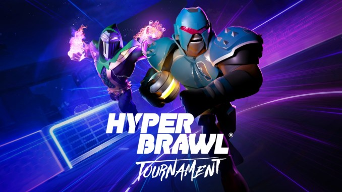 """Das Bild zeigt das Logo von """"HyperBrawl Tournament""""."""