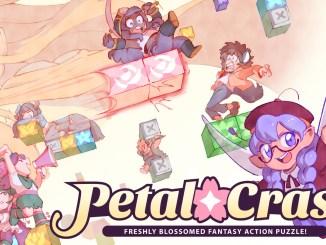 """Das Bild zeigt das Logo von """"Petal Crash""""."""