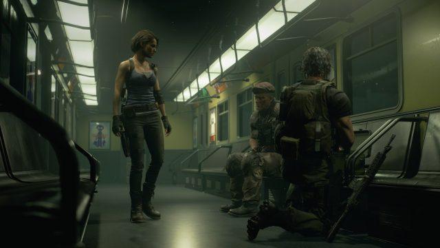 """Das Bild zeigt eine Szene aus """"Resident Evil 3""""."""