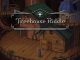 """Das Bild zeigt das Logo des Spieles """"Treehouse Riddle""""."""