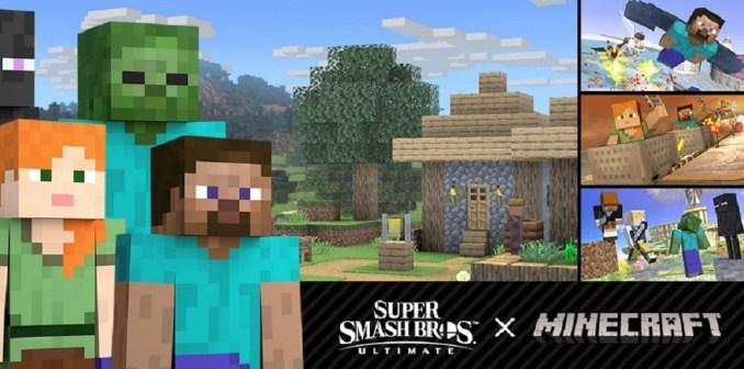 """Das Bild zeigt die """"Minecraft""""-Inhalte aus Update 9.0.0."""