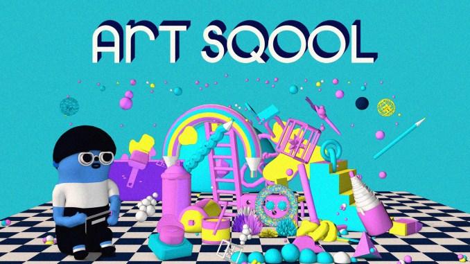 """Das Bild zeigt das Logo des Spieles """"Art Sqool""""."""