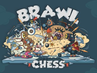 """Das Bild zeigt das Logo von """"Brawl Chess""""."""