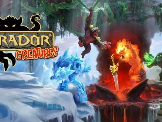"""Das Bild zeigt das Logo von """" Eldrador Creatures""""."""