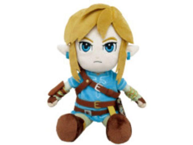 Das Bild zeigt ein Nintendo-Merch Link-Plushee, welches von Lidl vertrieben wird.