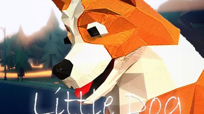 """Das Bild zeigt das Logo von """"My Little Dog Adventure""""."""