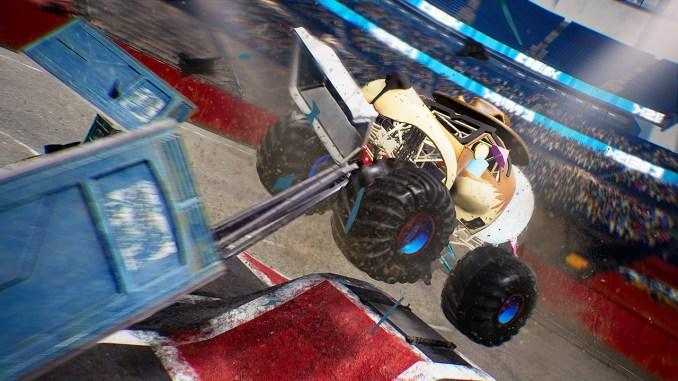 """Das Bild zeigt eine Szene aus dem Spiel """"Monster Truck Championship""""."""