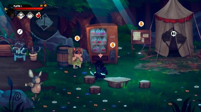 """Das Bild zeigt eine Suene aus dem Spiel """"Paw Paw Paw""""."""