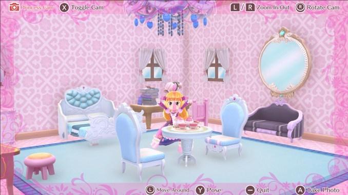 """Das Bild zeigt eine Szene aus dem Speil """"Pretty Princess Party""""."""