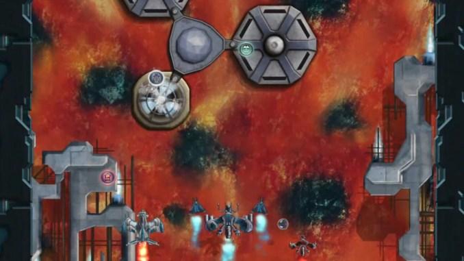 """Das Bild zeigt eine Szene aus dem Spiel """"Sky Mercenaries Redux""""."""