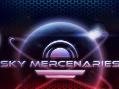 """Das Bild zeigt das Logo des Spieles """"Sky Mercenaries Redux""""."""