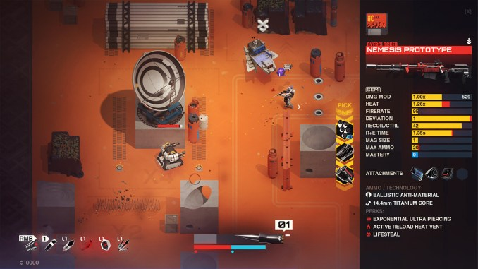 """Das Bild zeigt eine Szene aus dem Spiel """"SYNTHETIK: Ultimate""""."""