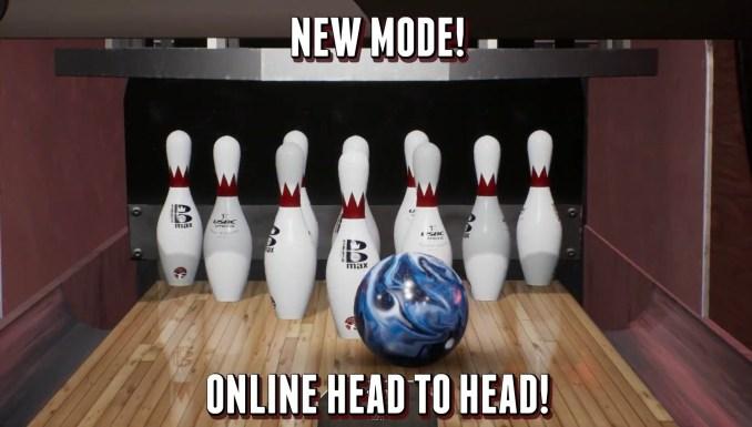 """Das Bild zeigt einen perfekten Wurf in """"PBA Pro Bowling 2021""""."""