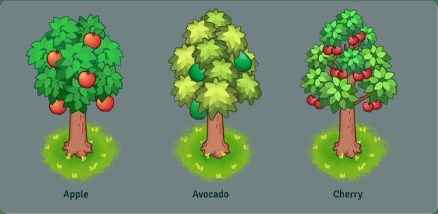 """Das Bild zeigt einen Baum aus dem Spiel """"Everafter Falls""""."""
