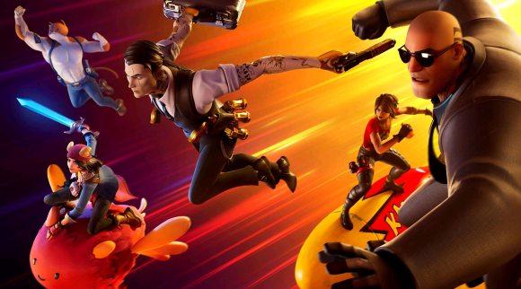 """Das Bild zeigt eine Szene aus dem Spiel """"Fortnite"""". Der neue Charakter in """"Super Smash Bros. Ultimate"""" könnte aus diesem Spiel stammen."""