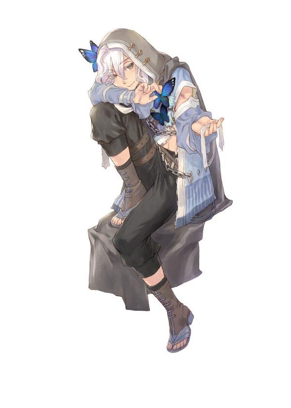 """Das Bild zeigt Lucas, einen Heiratskandidaten in """"Rune Factory 5"""". Beatrice und Lucas wurden gemeinsam vorgestellt."""