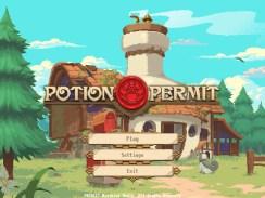 """Das Bild zeigt das Logo von """"Potion Permit""""."""