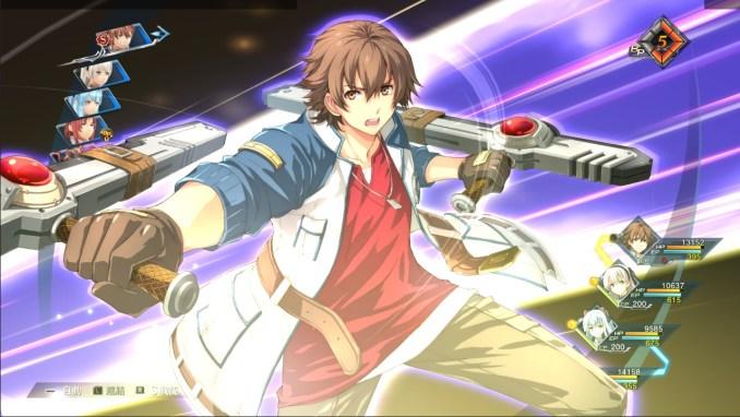 """Das Bild zeigt eine Szene aus dem Spiel """"The Legend of Heroes: Hajimari no Kiseki""""."""