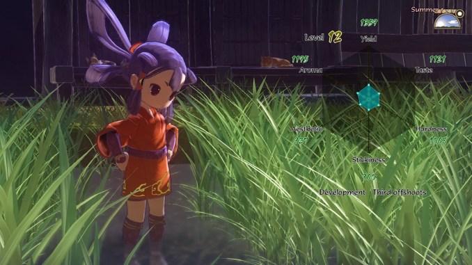"""Das Bild zeigt eine Szene aus dem Spiel """"Sakuna: Of Rice and Ruin""""."""