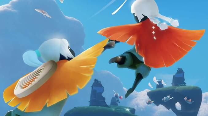 """Das Bild zeigt eine Szene aus dem Spiel """"Sky: Children of the Light""""."""