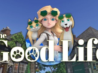 """Das Bild zeigt das Logo von """"The Good Life""""."""