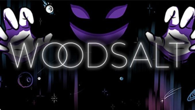 """Das Bild zeigt das Logo des Spieles """"Woodsalt""""."""