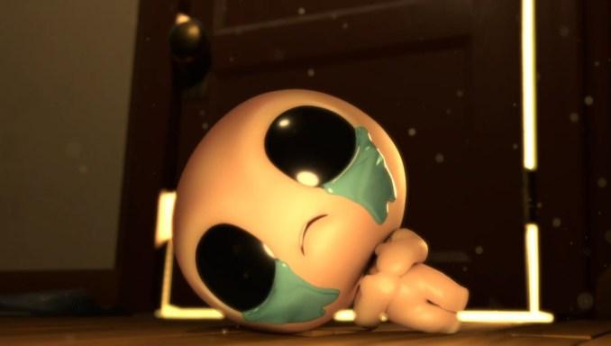 """Das Bild zeigt eine Szene des Teasers von """"The Binding of Isaac: Repentance""""."""