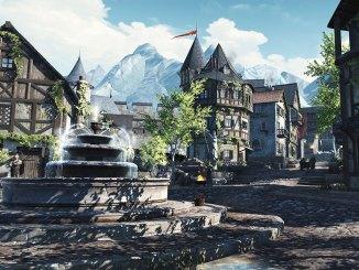 """Das Bild zeigt eine Szene aus dem Spiel """"The Elder Scrolls: Blades""""."""