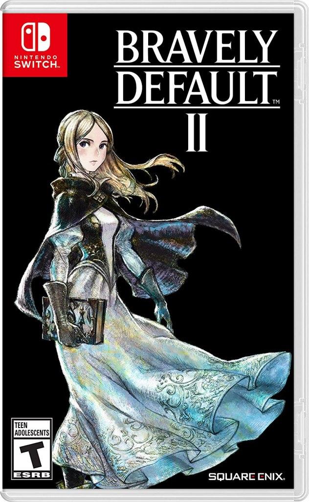 """Das Bild zeigt das Logo von """"Bravely Default II""""."""