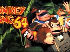 """Das Bild zeigt das Logo von """"Donkey Kong 64""""."""