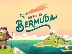 """Das Bild zeigt das Logo von """"Down in Bermuda""""."""