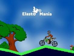 """Das Bild zeigt das Logo des Spieles """"Elasto Mania""""."""