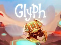 """Das Bild zeigt das Logo des Spieles """"Glyph""""."""