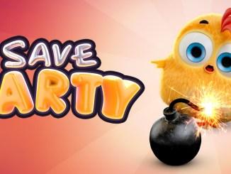 """Da Bild zeigt das Logo von """"Save Farty""""."""