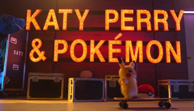 """Das Bild zeigt den Schriftzug """"Katy Perry & Pokémon""""."""