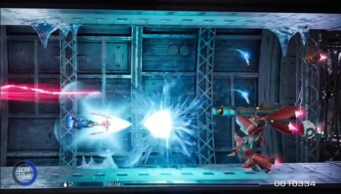 """Das Bild zeigt die Shooter-Action in """"R-Type Final 2""""."""