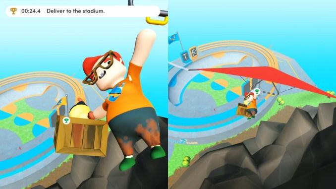 """Das Bild zeigt eine Szene aus dem Spiel """"Totally Reliable Delivery Service""""."""