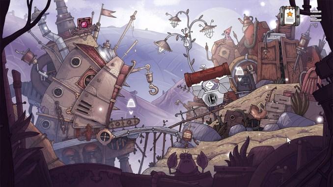 """Das Bild zeigt eine Szene aus dem Spiel """"TOHU""""."""
