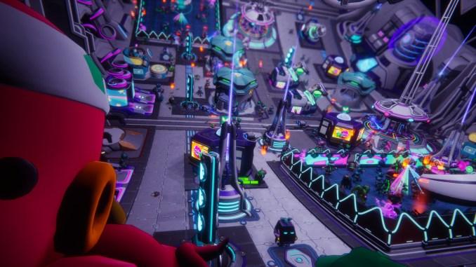 """Das Bild zeigt ein Areal aus dem Spiel """"Spacebase Startopia"""""""
