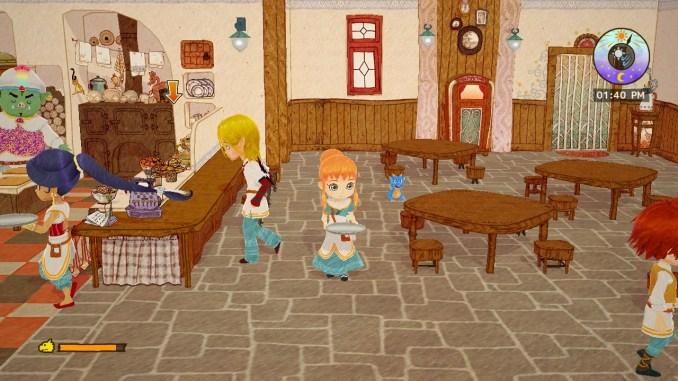 Das Bild zeigt die Inneneinrichtung des Little Dragons Café