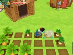 """Das Bild zeigt eine Szene aus dem Spiel """"Harvest Moon: One World""""."""